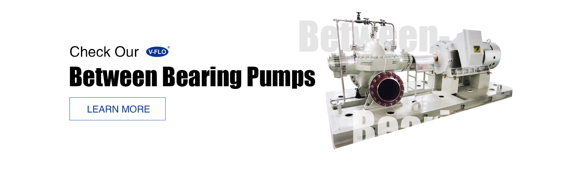 between bearing pumps